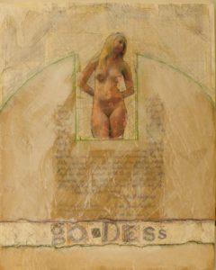 Goddess, Mixed Media by Bob Worthy, 20x16 (February 2013)