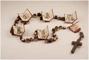 I Sorrowful, Bookmaking by Ashleigh Buyers, 9x12x1 (February 2013)