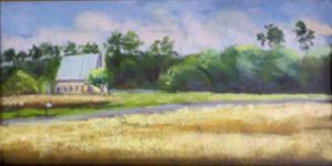 Just Before Harvest, Pastel by Kathleen Willingham, 6in x 12in (August 2013)