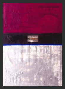 Resolution, Mixed Media by Barbara Taylor Hall, 28in x 20in (April 2013)