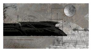 Soul Train, Digital Printmaking by Robert S. Hunter, 9in x 16in (May 2013)