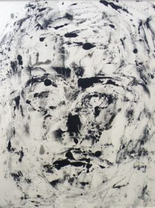 Untitled, Monotype by Maria K. Motz, 20inx15in (March 2013)