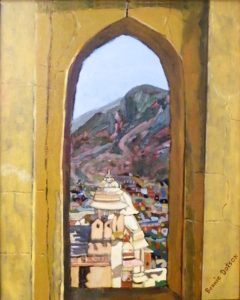 View of Indian Town, Oil by Bonnie Dotson, 20in x 16in (June 2013)