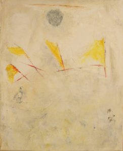 Will Othe Wisp Series, Wisp No. 4, Oil on Canvas by Jane Woodworth, 21in x 17in (May 2013)