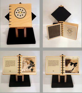 Stories of Light and Shadow, Artist Book by Robert Hunter, 9in x 5in x 6in, $500 (May 2018)