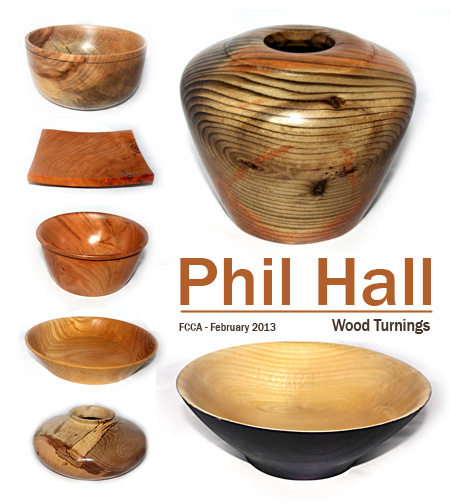 Wood Turnings by Phil Hall (MG: February 2013)