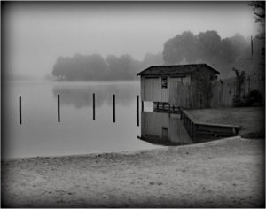 Boat House, Photography by Becki Heye, 11in x 14in, $100 (August 2018)