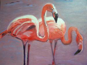 Byrd Barbara, Flamingos by Barbara Byrd (CBTC June-Sept 2018)
