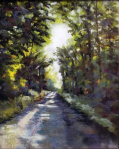 Morning Journey, Soft Pastel by Kathleen Willingham, 20in x 16in, $725 (August 2018)