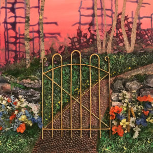 Garden Gate by Karen Julihn (CBTC: October 2018)