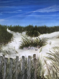 By the Sea by Kathleen Mullins (CBTC: July 2019)