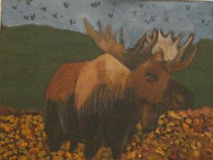 Moose by James Clark (CBTC: July 2019)