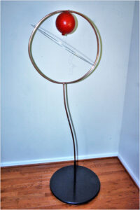 Free From Gravity, Multi Media Sculpture by Addison Likins, 72in x 30in x 3in, $450 (August 2019)