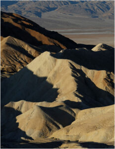 Zabriskie Point at Death Valley, Photography by Linda Agar-Hendrix, 22in x 17in, $275 (August 2019)
