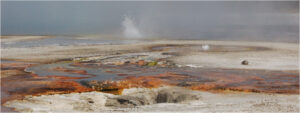 Baby Geysers, Photography by Lee Cochrane, 6in x 16in, $100 (November 2019)