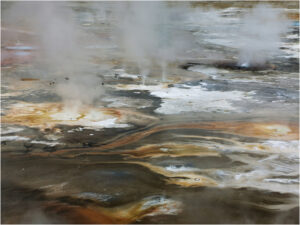 Chaotic Caldera, Photography on Canvas by Rachael Carroll, 18in x 24in, $120 (November 2019)