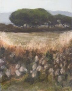 The High Moor in Cornwall, Acrylic by Christine E Long  (Dec. 2013-Jan. 2014)