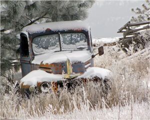 Farm Truck, Photography by Janice Downes (February 2016)
