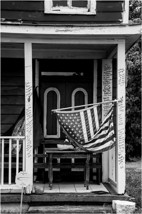 HONORABLE MENTION: Patriotism, Digital Photography by Norma Woodward (February 2016)