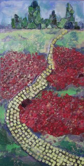 Work by Sally Rhone-Kubarek (MG: November 2015)