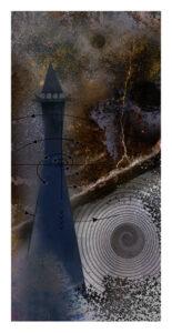 Storm Surge, Digital Print by Robert Hunter, 16.5in x 8.5in, $300 (November 2019)