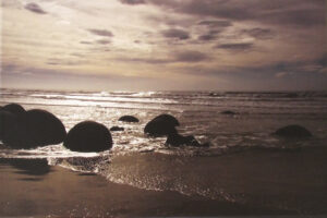 Surf Marbles, Photo on Archival Canvas by Sue Henderson (February 2016)