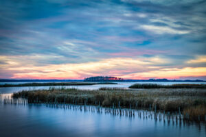Marsh Sunset Magic, Photography by C. Renee Martin, 12in x 18in, $330 (February 2020)