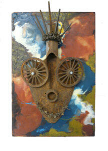 Ms. Liberty, Relief Sculpture by Pam Weldon, 13in x 9in, $233 (March 2020)