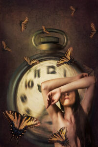 Perpetual Futures, Digital Art Photograph by Rebecca Carpenter, 18in x 12in, $225 (March 2020)