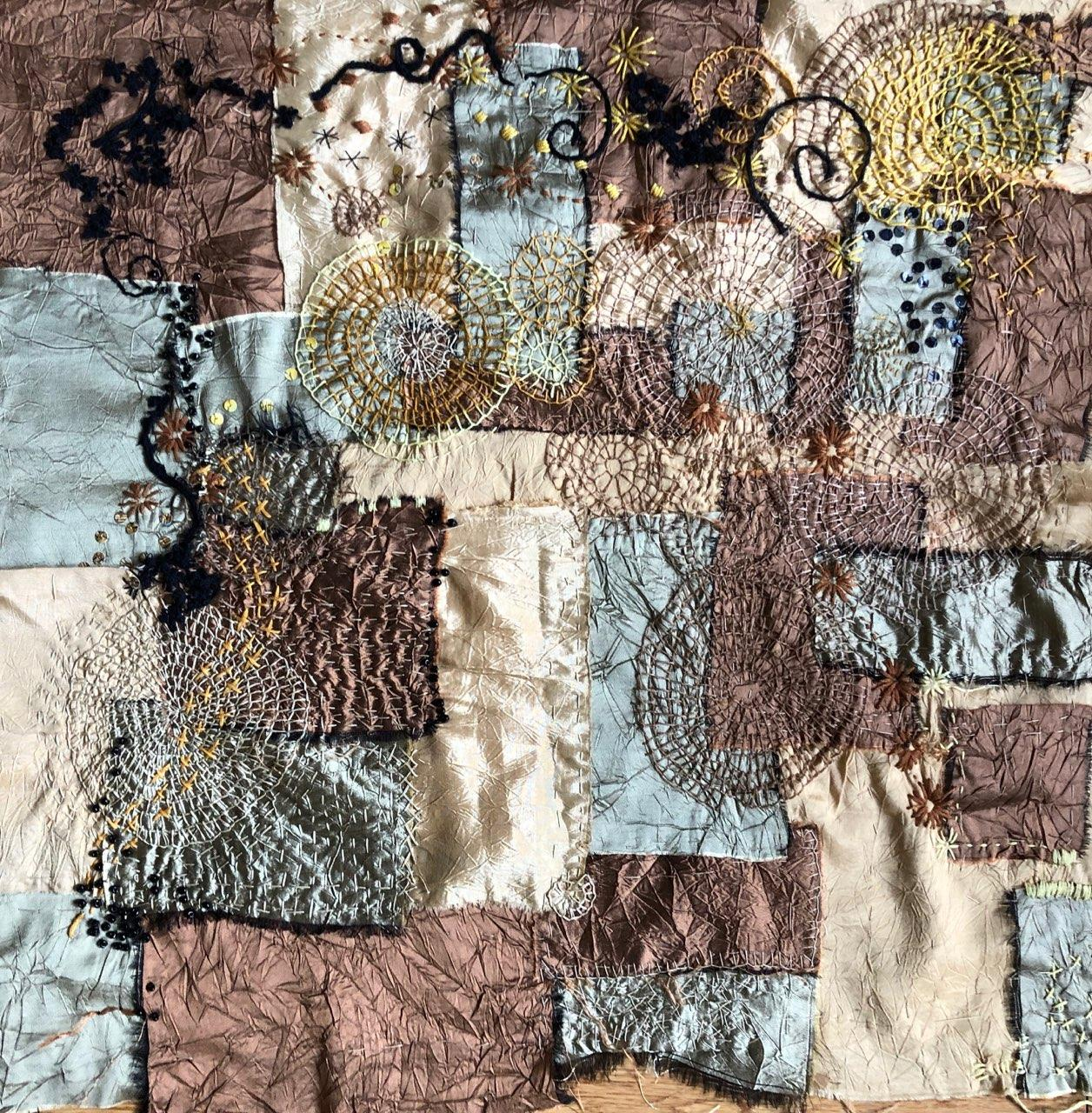 Collaborative work by Kay Portmess and Maura Harrison (MG: April 2020)